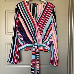Striped Multicolored Express Blouse